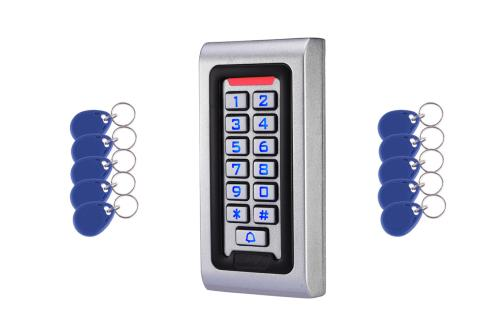 Back lit digital Key Pad with ten Prox Fobs