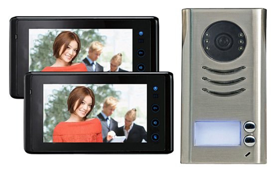 "2-EASY 2WAY Kit  (7"" Touch Screen Entry Phone System)"