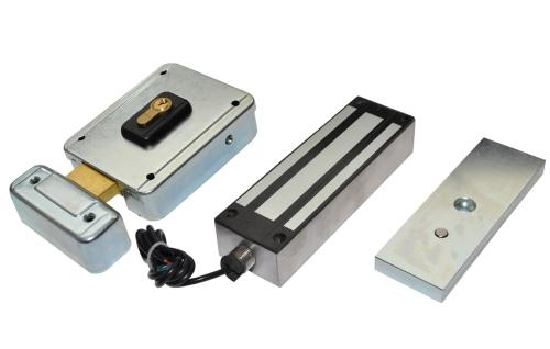 Locks And Push Buttons Automatic Gates Electric Gates