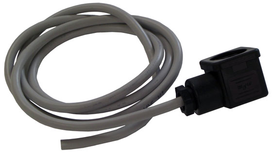 Power plug with 1.2M of cable for the 24 Volt Jet ram motor