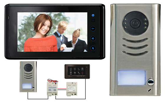 "2-EASY Kit  (7"" Touch Screen Entry Phone System)"