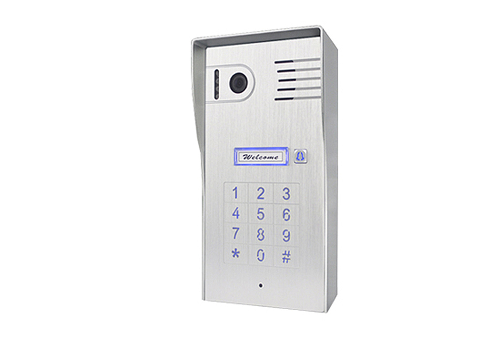 Door Station With Built-in Keypad