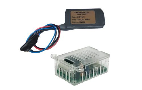 Transmitter & Receiver Kit (N/O & N/C) Contacts